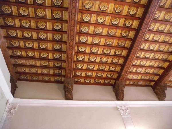 soffitto salone piano nobile